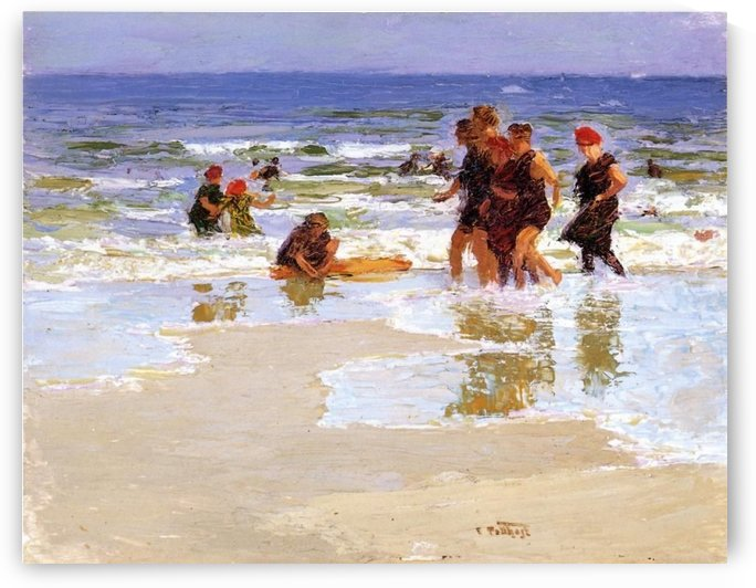 At the Seashore II by Edward Henry Potthast