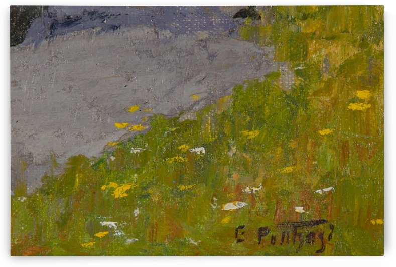 Rocky fields by Edward Henry Potthast