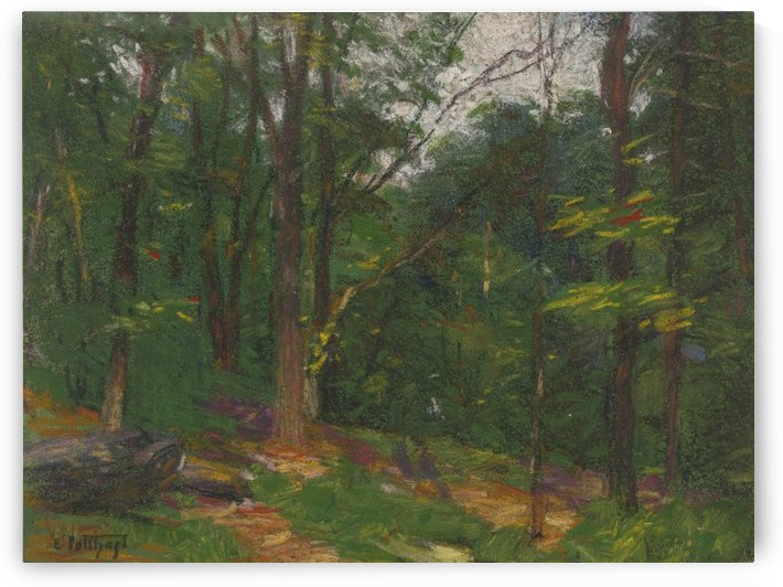 Forest in the spring by Edward Henry Potthast