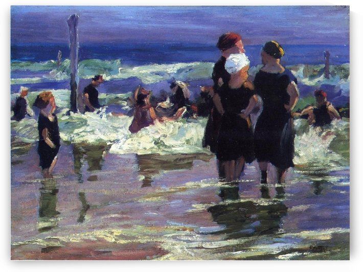 The Gossips by Edward Henry Potthast