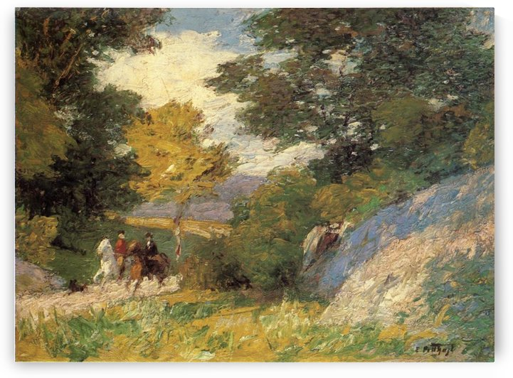 Bridal Path by Edward Henry Potthast