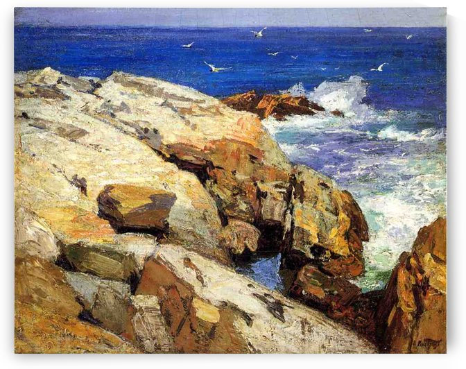 The Maine Coast by Edward Henry Potthast