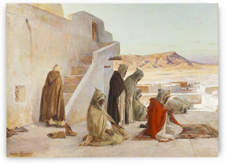 Prayer Time by Eugene Alexis Girardet