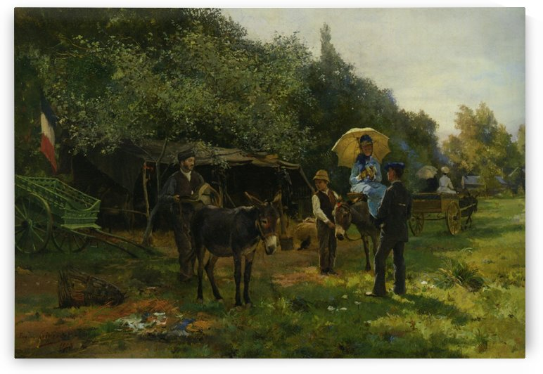 Excursion by Eugene Alexis Girardet