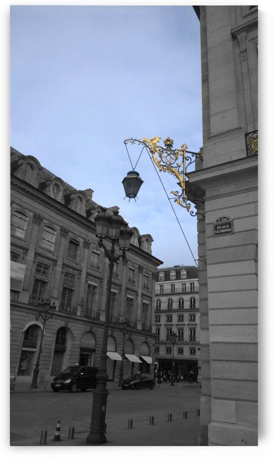 Paris Vendome blue gold by splash