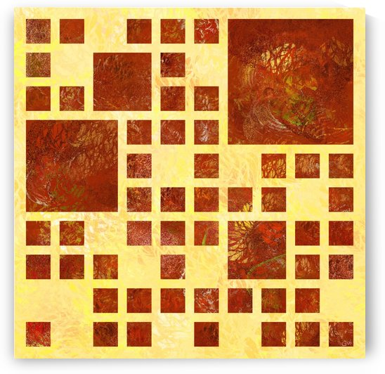 Nemissos V1 - painted squares by Cersatti Art