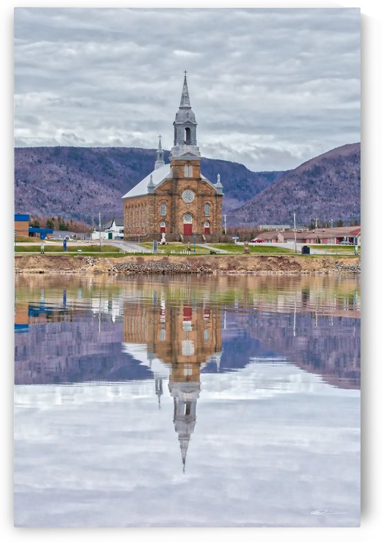 St. Pierres Church - Cheticamp Ns by Michel Soucy