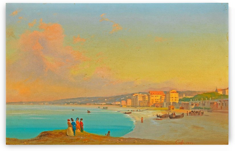 Nice 1852 by Ippolito Caffi