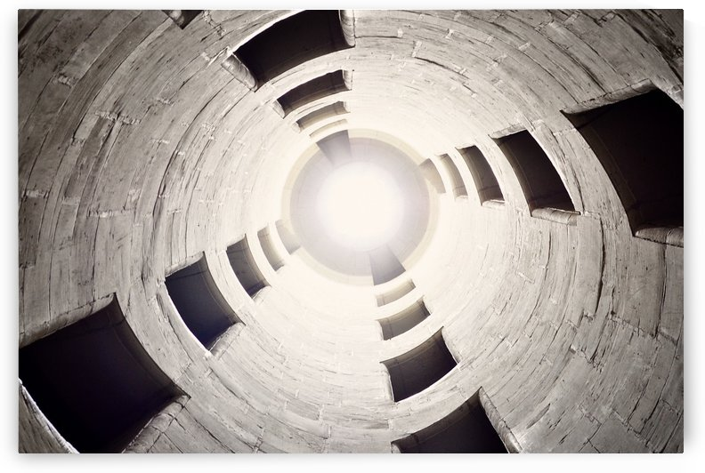 silo perspective by StockPhotography