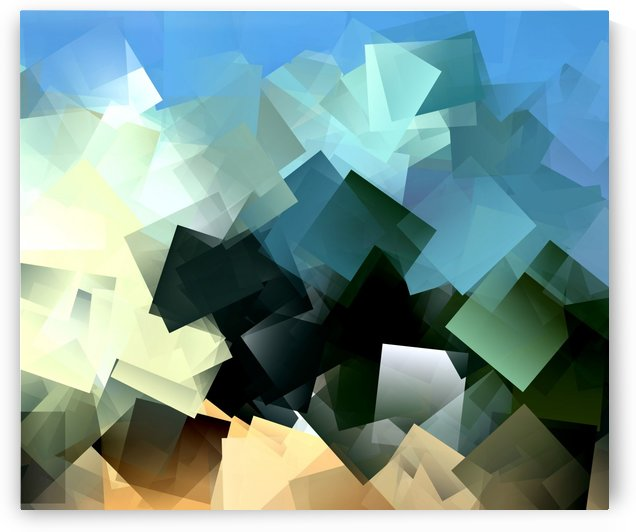 Chaos Mess Abstract Modern Pattern Background by StockPhotography