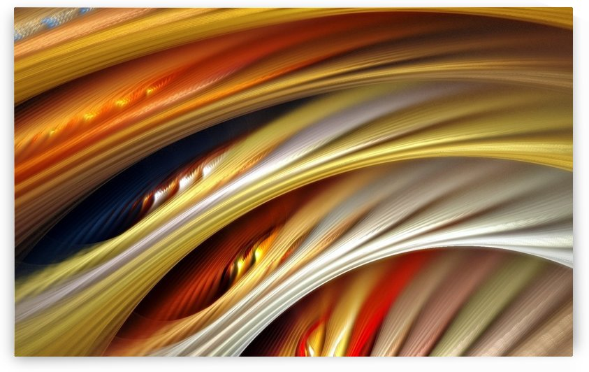 Colors Stripes Abstract Background Strings by StockPhotography
