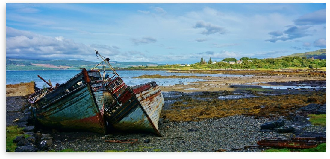 Leaning wrecks by Andy Jamieson