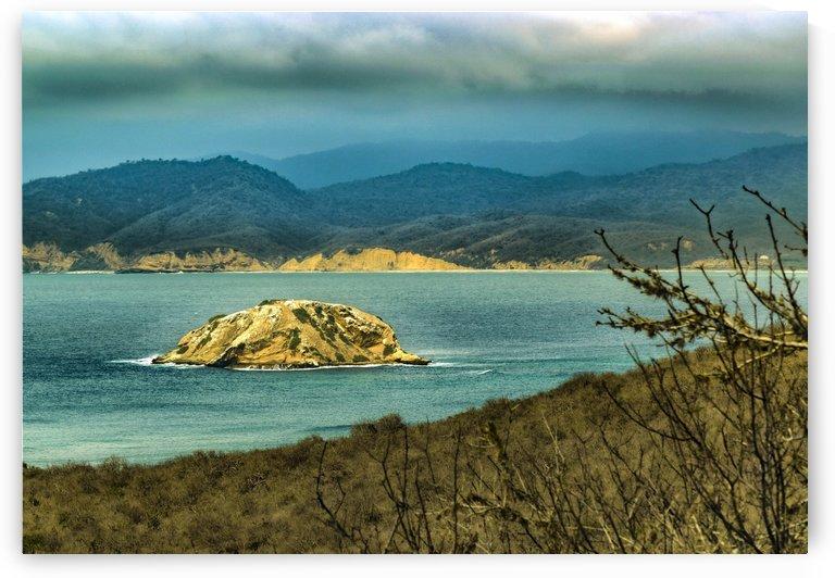 Mountains and Sea at Machalilla National Park Ecuador01 by Daniel Ferreia Leites Ciccarino