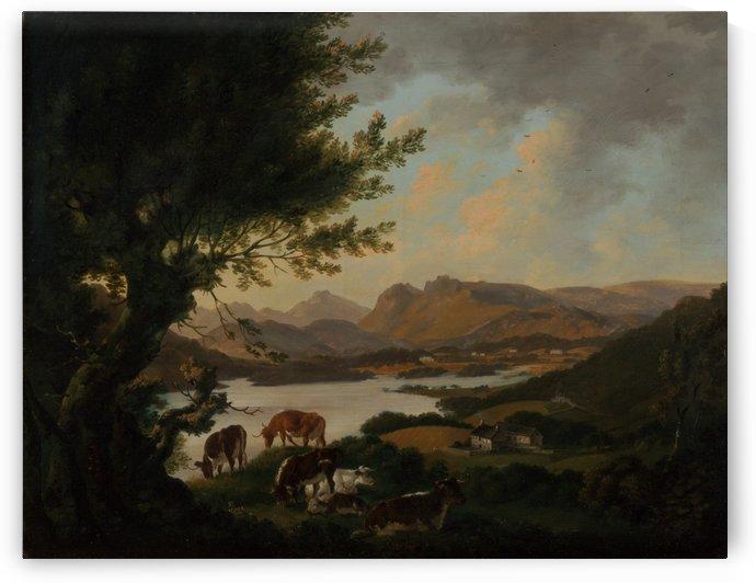 Lake Windermere by Julius Caesar Ibbetson
