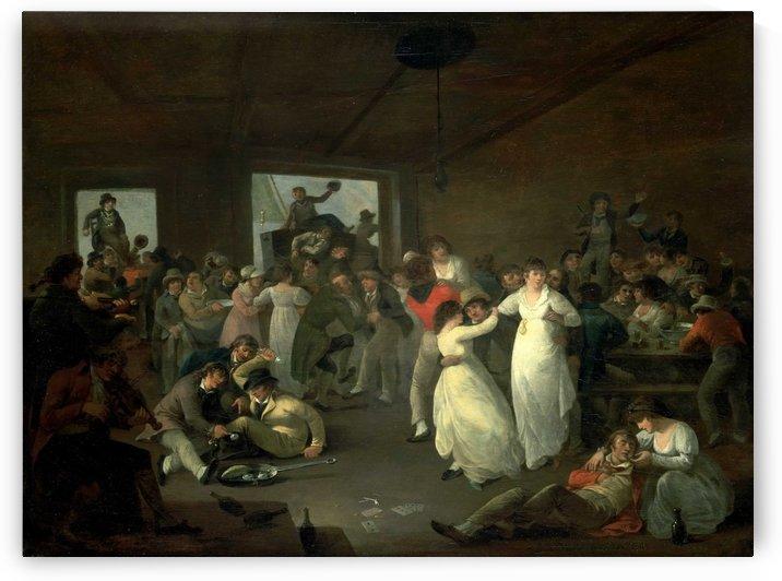 Sailors Carousing by Julius Caesar Ibbetson