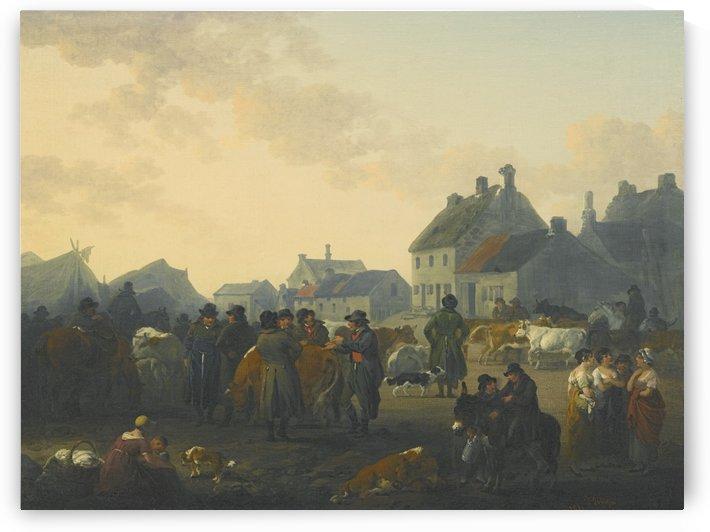 Caesar market day by Julius Caesar Ibbetson