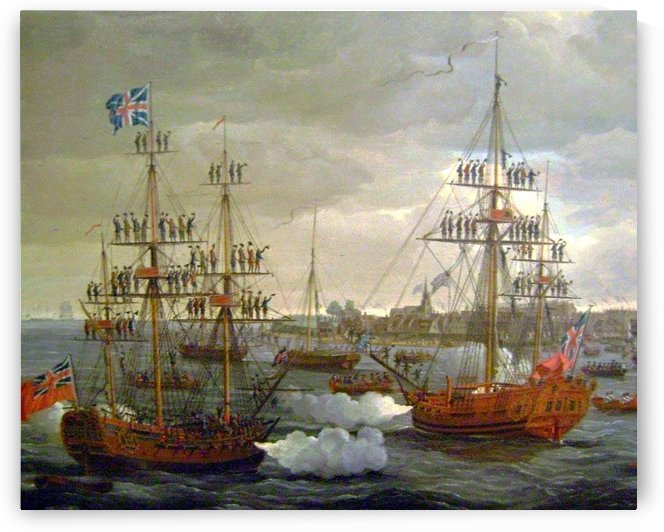 British Tars by John Cleveley the Elder