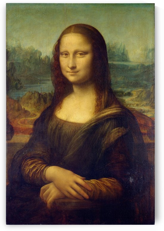 Mona Lisa Leonardo Da Vinci La Gioconda Oil Painting by STOCK PHOTOGRAPHY