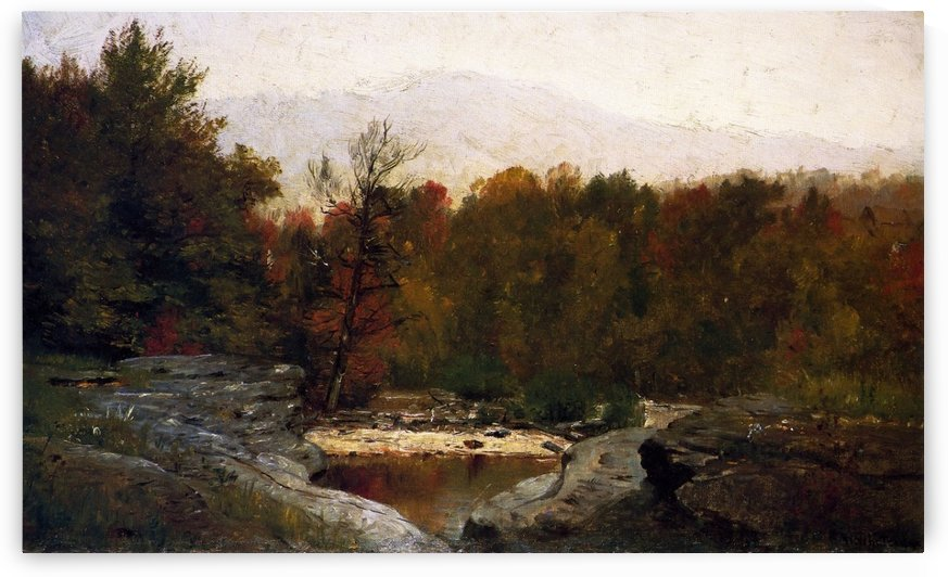 Autumn, Catskill Mountains in the Mist by Thomas Worthington Whittredge