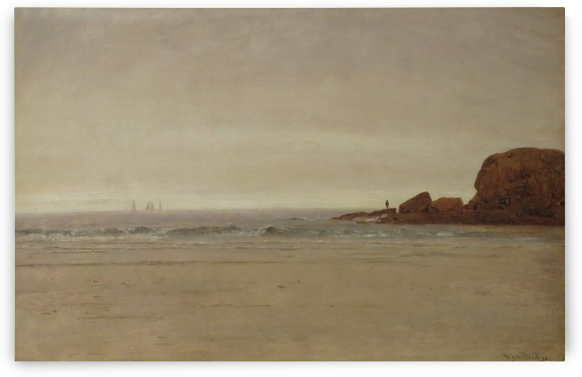 Beach and Rocks by Thomas Worthington Whittredge