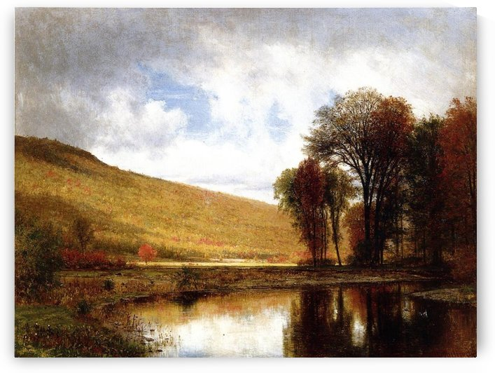 Autumn on the Deleware by Thomas Worthington Whittredge