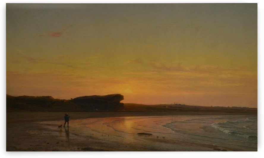 Second Beach Newport by Thomas Worthington Whittredge