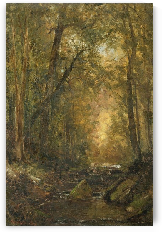 A Catskill Brook by Thomas Worthington Whittredge