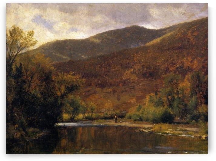 Along the Delaware by Thomas Worthington Whittredge