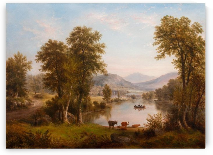 Woods of Ashokan by Thomas Worthington Whittredge