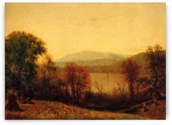 Autumn on the Hudson by Thomas Worthington Whittredge