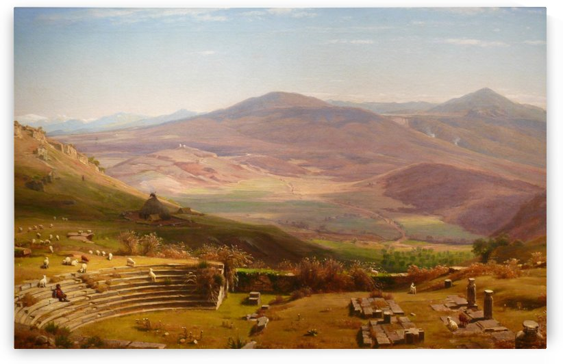 Tusculum Amphitheatre by Thomas Worthington Whittredge