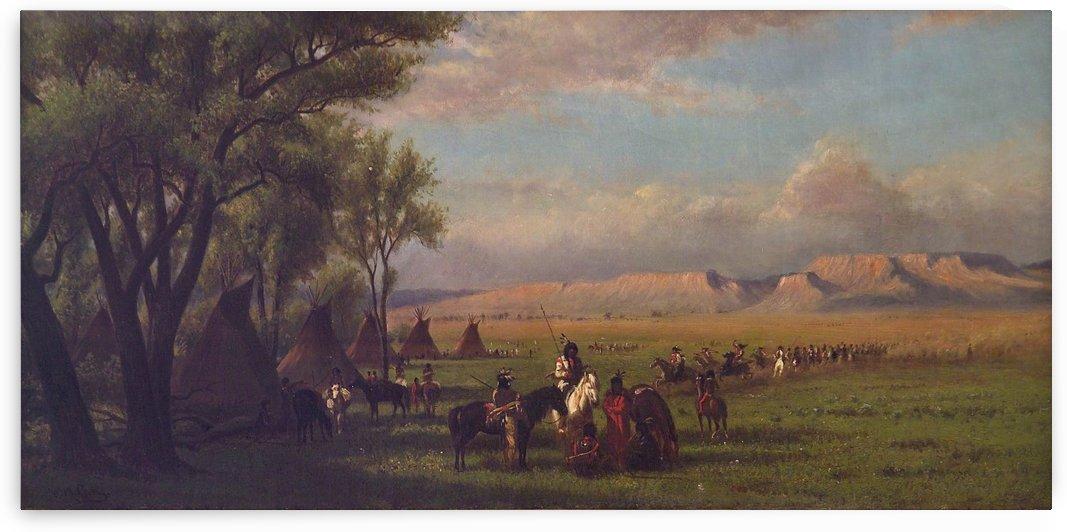 Encampment by William de la Montagne Cary