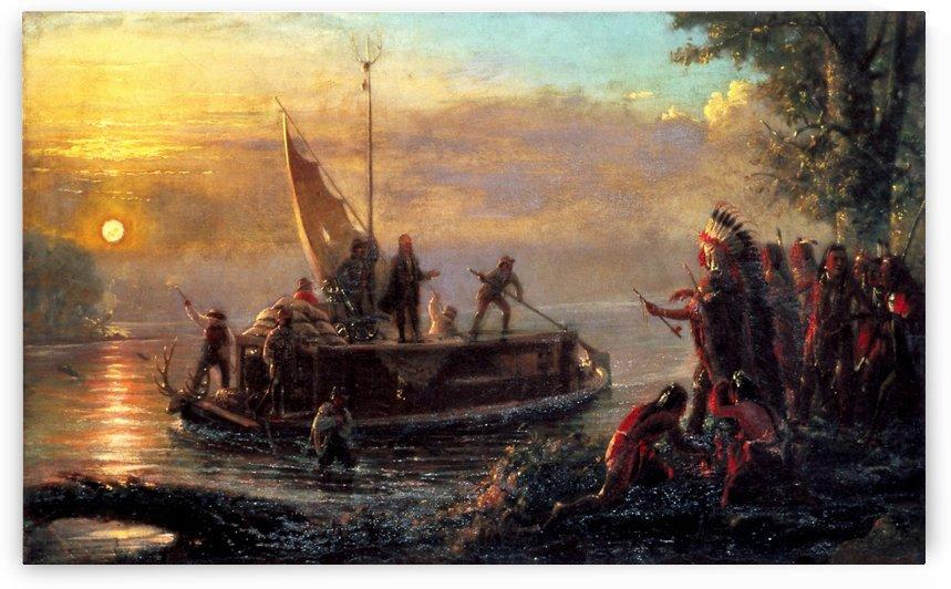 Founding of St. Louis, 1764 by William de la Montagne Cary