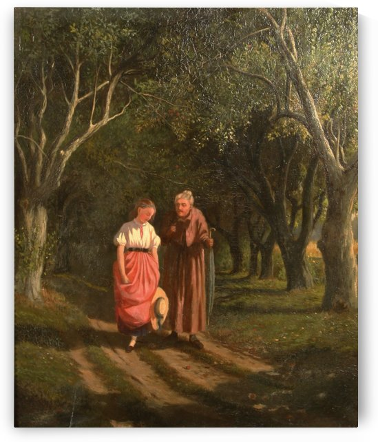 A talk in the forrest by William de la Montagne Cary