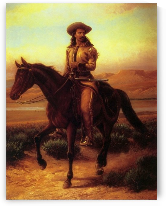 Buffalo Bill on Charlie by William de la Montagne Cary