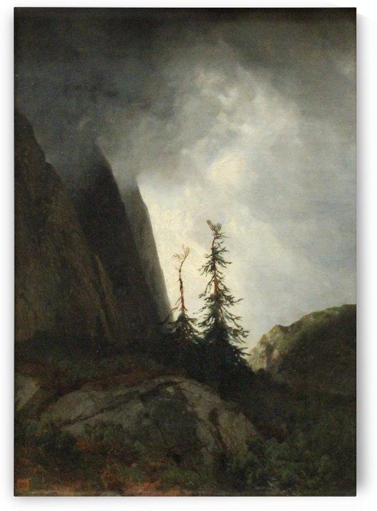 Route du Grimsel by Alexandre Calame