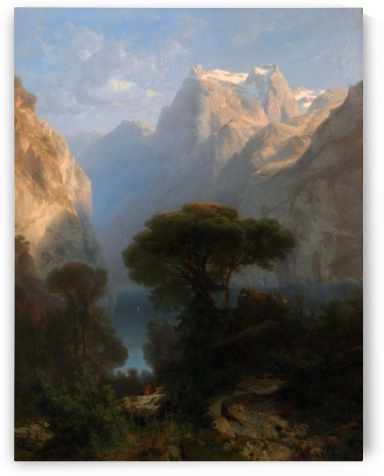 Vierwaldstattersee by Alexandre Calame