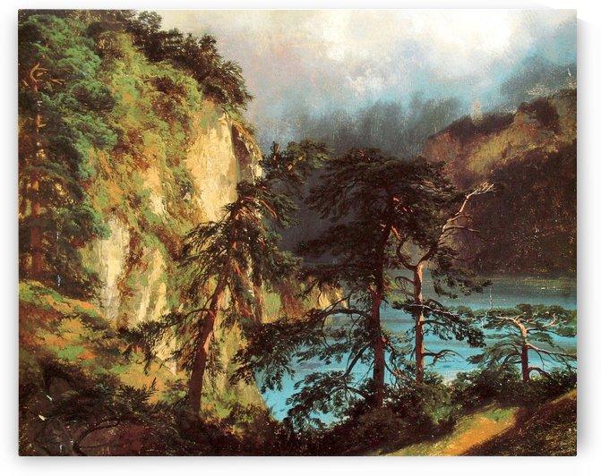 Blick auf den Urnersee 1848 by Alexandre Calame