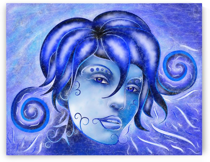 Frosinissia V1 - frozen face by Cersatti Art