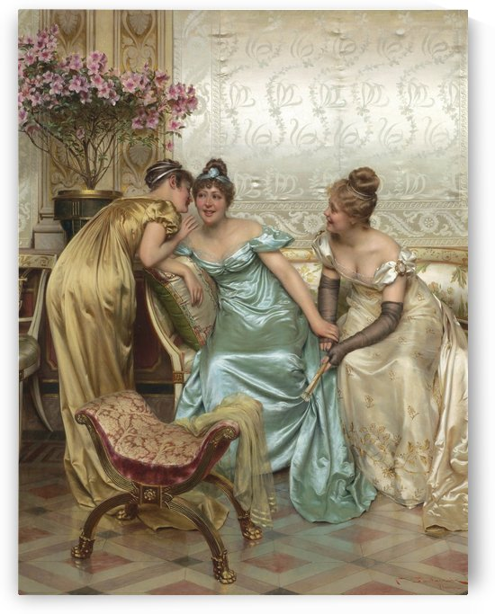 Three ladies by Frederic Soulacroix