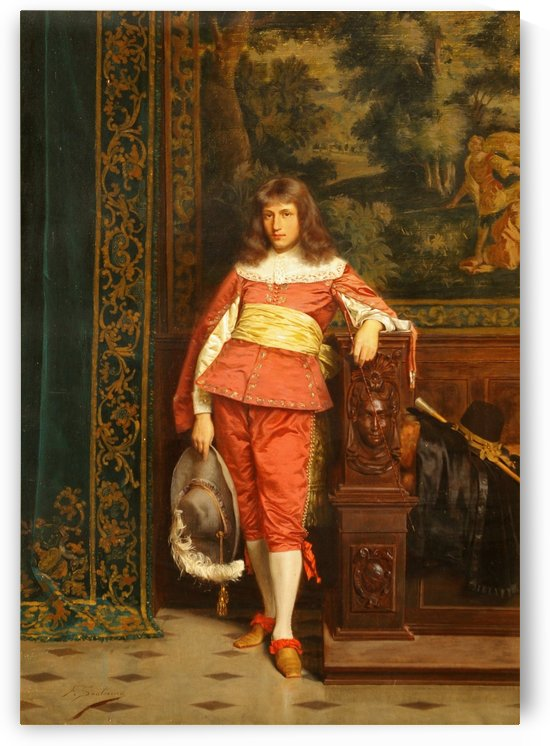 The handsome nobleman by Frederic Soulacroix