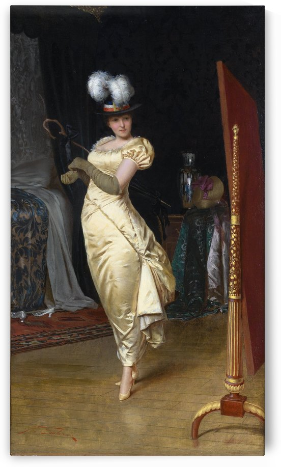 Preparing for the ball by Frederic Soulacroix