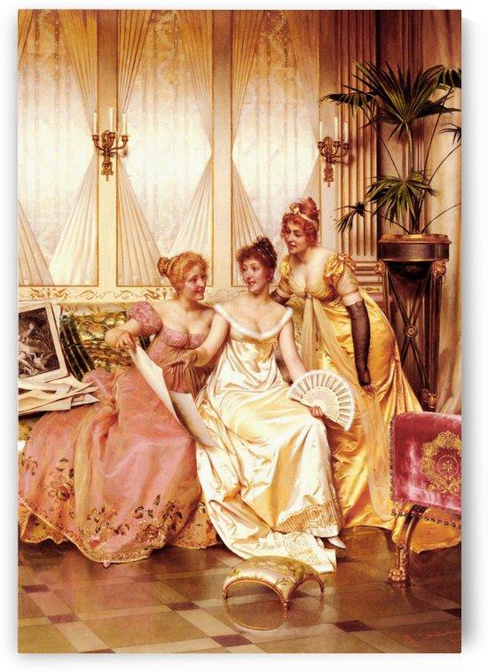 Les trois connaisseuses by Frederic Soulacroix