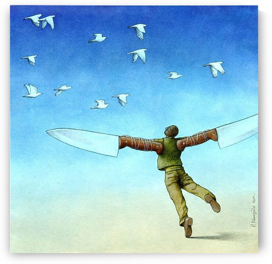 Flight by Pawel Kuczynski