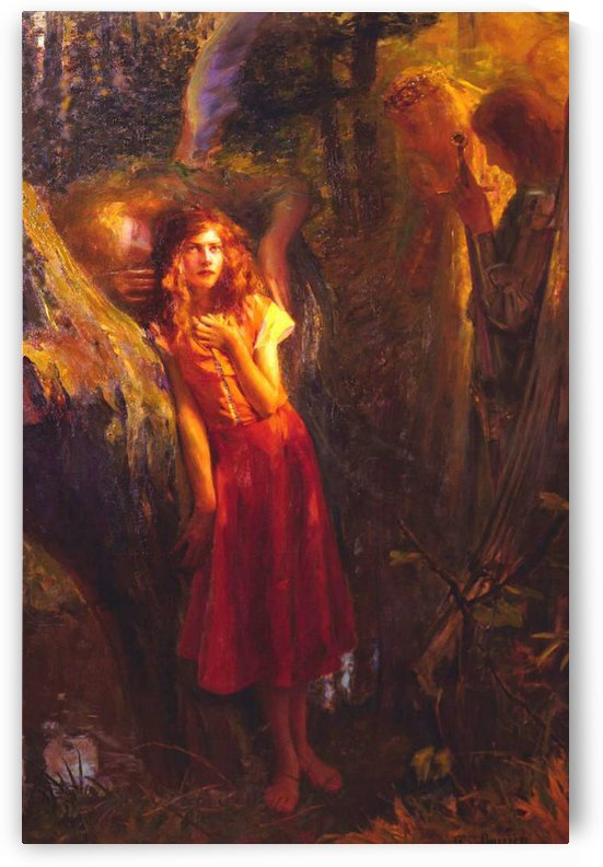 Joan of Arc by Gaston Bussiere