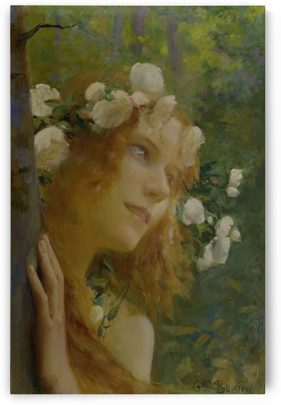 Nymphe by Gaston Bussiere