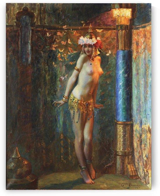 Bellydancer by Gaston Bussiere