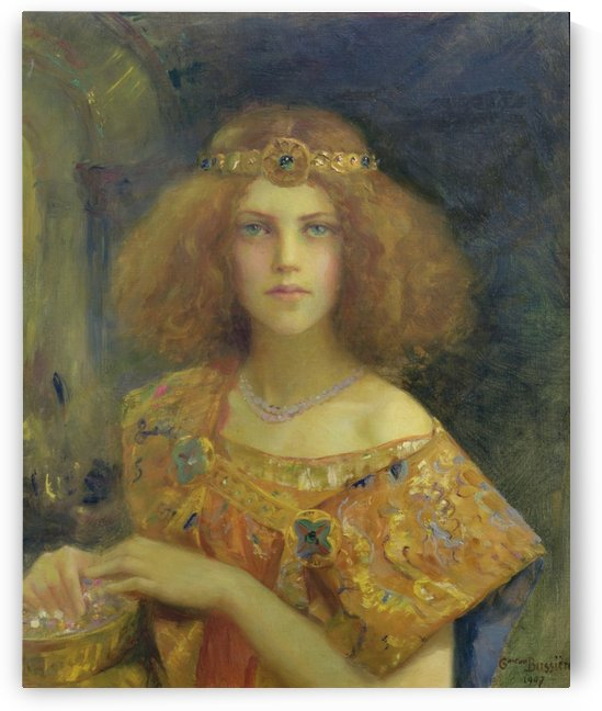 Portrait of a Princess by Gaston Bussiere