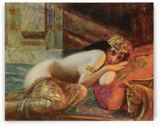Beaute orientale by Gaston Bussiere