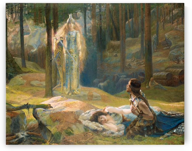 The revelation by Gaston Bussiere
